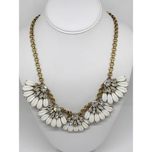 J. Crew Daisy Crystal Necklace